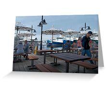 Fremantle Fishing Boat Harbour .  Greeting Card