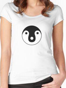 Sayonara Zetsubou Sensei - Penguin  Women's Fitted Scoop T-Shirt