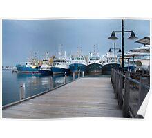 Fremantle Fishing Boat Harbour #3. Poster