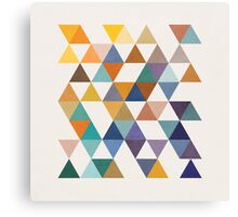 Triangles 2 by Latte Design Canvas Print