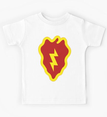 25th Infantry Division Insignia Kids Tee