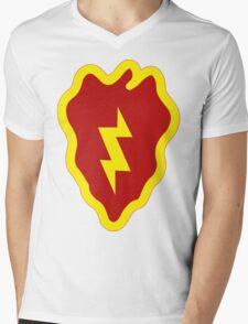 25th Infantry Division Insignia Mens V-Neck T-Shirt