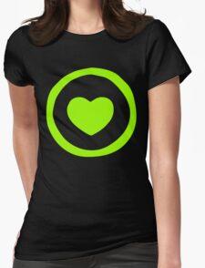 Lime Green Heart T-shirt T-Shirt