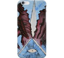 abstract macabre iPhone Case/Skin