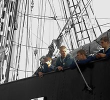 Sehnsucht - Four young sailors by steppeland