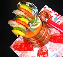 Vegetable Soup With Sausage-Pepper-Sticks by SmoothBreeze7