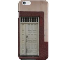 Windows and Door in a Wall iPhone Case/Skin