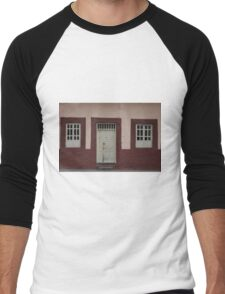 Windows and Door in a Wall Men's Baseball ¾ T-Shirt