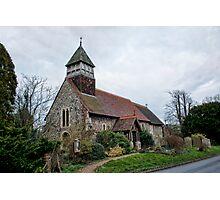 St Mary, Stodmarsh Photographic Print