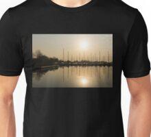Let's Sail - Sunny Morning Marina Unisex T-Shirt