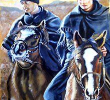 The WILD ONES  WILLS & HARRY by james thomas richardson