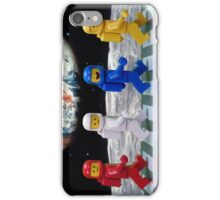 The Beatles on the moon. iPhone Case/Skin
