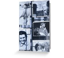 Che Guevara postcards Greeting Card