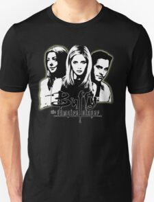 A Trio of Scoobies (Willow, Buffy & Xander) Unisex T-Shirt