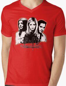 A Trio of Scoobies (Willow, Buffy & Xander) Mens V-Neck T-Shirt