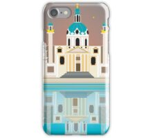 Vienna, Austria - Skyline Illustration by Loose Petals iPhone Case/Skin
