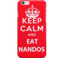 Keep Calm and Eat Nandos iPhone Case/Skin