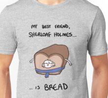 Sherloaf (black writing) Unisex T-Shirt