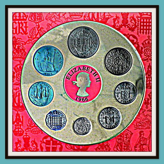 British Coin Collection from 1966 by ©The Creative  Minds