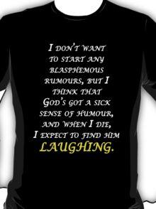 Blasphemous rumours - Depeche mode T-Shirt