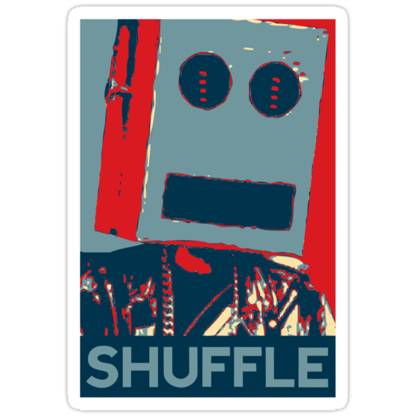 Shuffle Hope (LMFAO vs Obama) by jezkemp