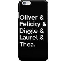 Arrow Season 4 iPhone Case/Skin