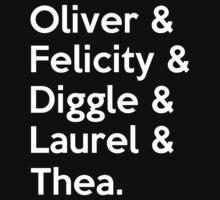 Arrow Season 4 by harrison90