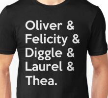 Arrow Season 4 Unisex T-Shirt