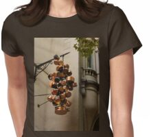 Copper Pots Womens Fitted T-Shirt