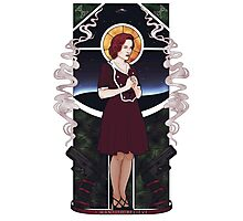 Dana Scully Art Nouveau Photographic Print