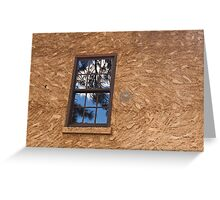 A Window To History Past Greeting Card