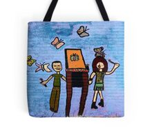 Children's NYC Wall #4a Tote Bag