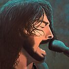 Dave Grohl by Cindy Longhini