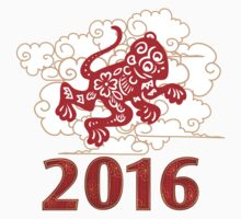 Chinese Zodiac Monkey 2016 Chinese Zodiac Monkey 2016 Kids Tee