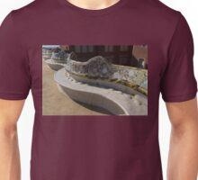 Gaudi's Park Guell Sinuous Curves  Unisex T-Shirt