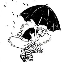umbrella falling by esa tia bizarra