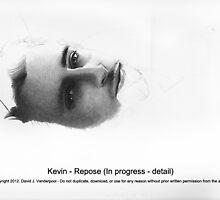 Kevin - Repose (upcose detail) by David J. Vanderpool