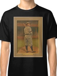 Benjamin K Edwards Collection Wildfire Schulte Chicago Cubs baseball card portrait Classic T-Shirt