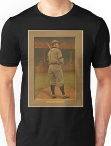 Benjamin K Edwards Collection Wildfire Schulte Chicago Cubs baseball card portrait Unisex T-Shirt