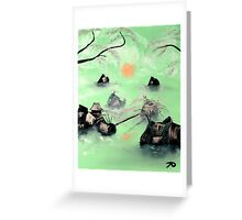 Mint Greeting Card