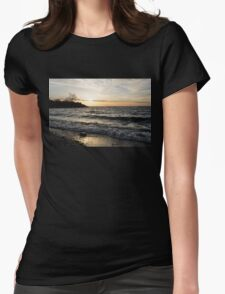 Lakeside - Waves, Sand and Sunshine Womens Fitted T-Shirt
