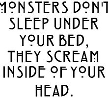 Monsters scream inside of your head by TimonPower77
