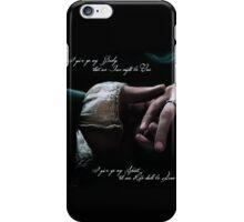 Outlander wedding vows iPhone Case/Skin