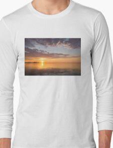 Golden Pink Toronto Sunrise Long Sleeve T-Shirt