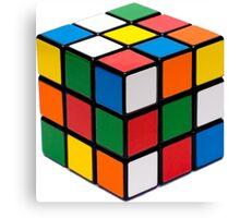 Rubik's cube stuff Canvas Print