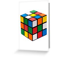 Rubik's cube stuff Greeting Card