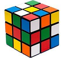 Rubik's cube stuff Photographic Print