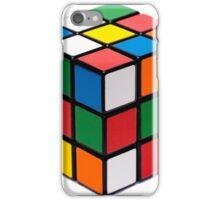 Rubik's cube stuff iPhone Case/Skin