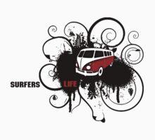 VW Graffiti Surfer life Kids Clothes