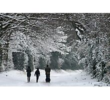 Snow Bootiful Two! Photographic Print